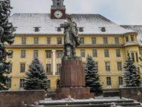 Leninstatue in Brandenburg