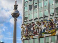 Mosaik Haus des Lehrers und Fernsehturm Alexanderplatz