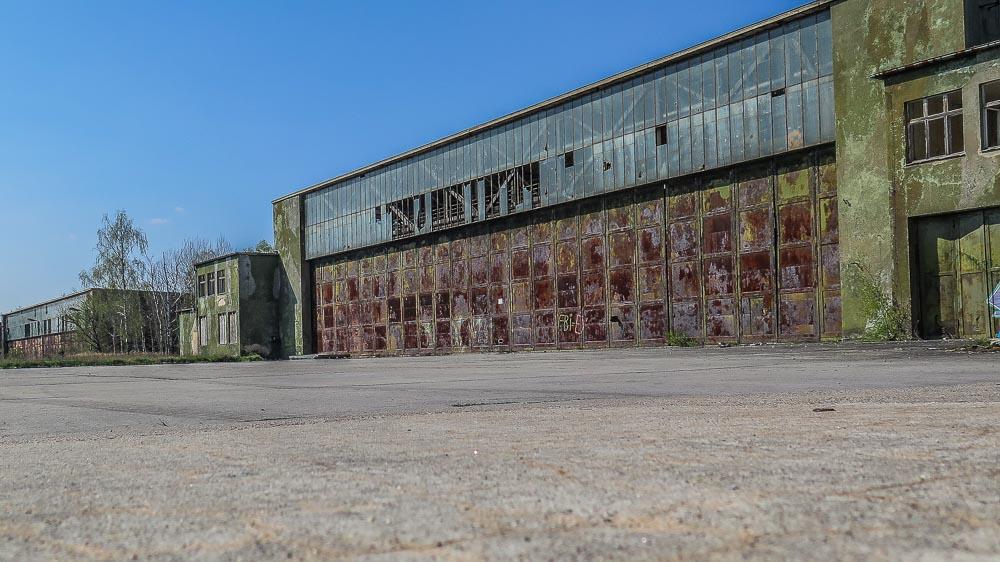 Verlassene Hangars Altes Lager Niedergörsdorf