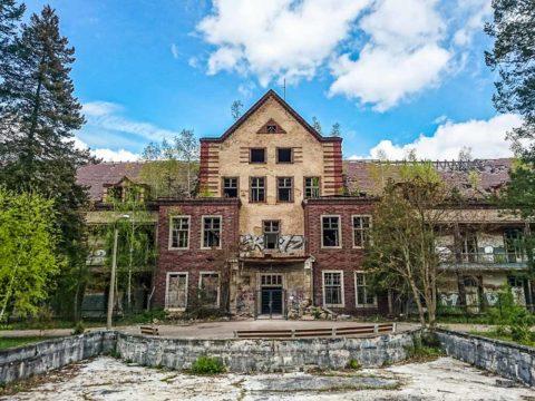 Verlassenes Krankenhaus Abandoned Hospital Beelitz Heilstätten Lost Places