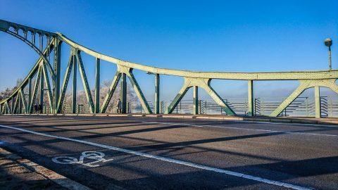Spionenbrücke Glienicker Brücke Potsdam Berlin
