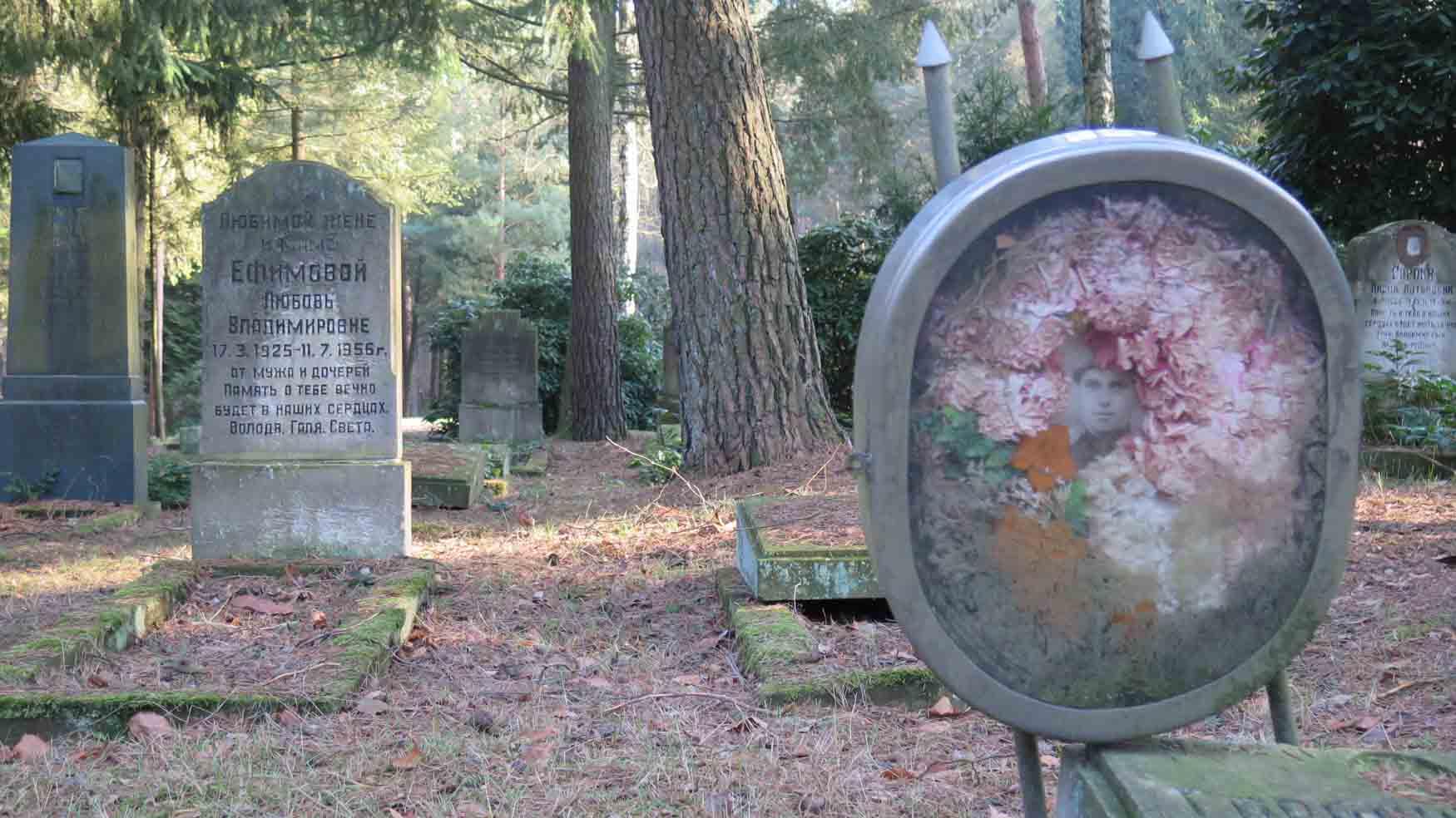 Grab auf Sowjetischen Friedhof Potsdam Michendorfer Chaussee