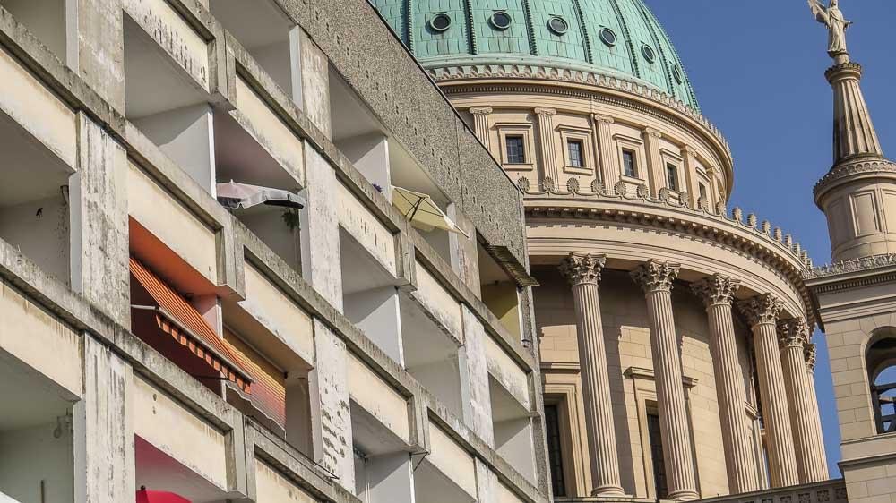 Sozialistische Architektur Potsdam Innenstadt
