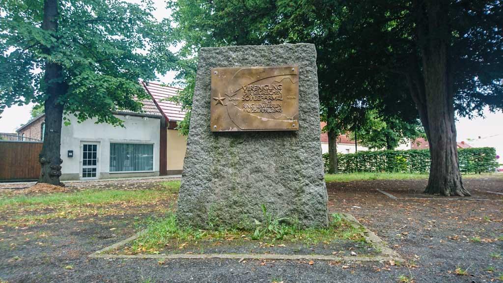 Gedenkstein Ketzin (Havel) Ring um Berlin 1945 © Berlins Taiga - Dein Ausflugsbegleiter in die sowjetische Geschichte