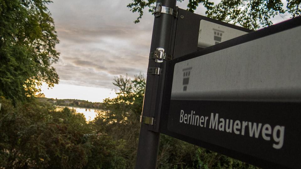 Berliner Mauerweg Park Babelsberg © Berlins Taiga - Stadtführungen