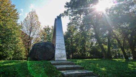 Denkmal Heimkehrerlager Frankfurt Oder