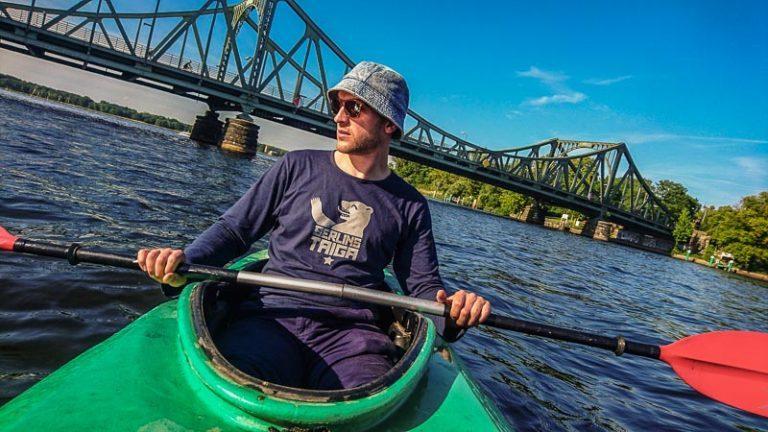 Kayak Potsdam Glienicker Brücke