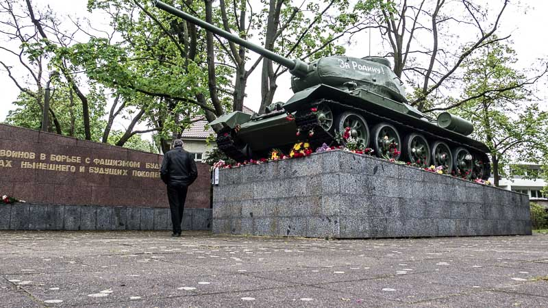 Museum Karlshorst Berlin T-34 Panzer