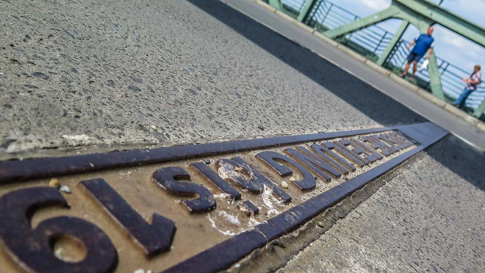 Spionenbrücke Grenze Glienicker Brücke Potsdam
