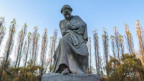 Statue Mutter Heimat Sowjetisches Ehrenmal Treptower Park