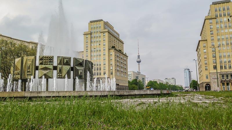 Strausberger Platz Karl Marx Allee Berlin