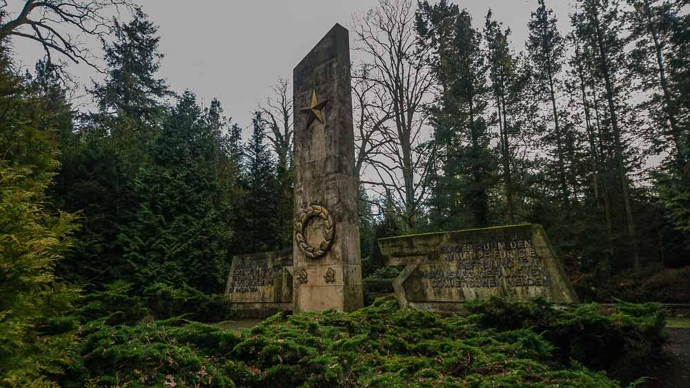 Monument Sowjetischer Ehrenfriedhof Eberswalde