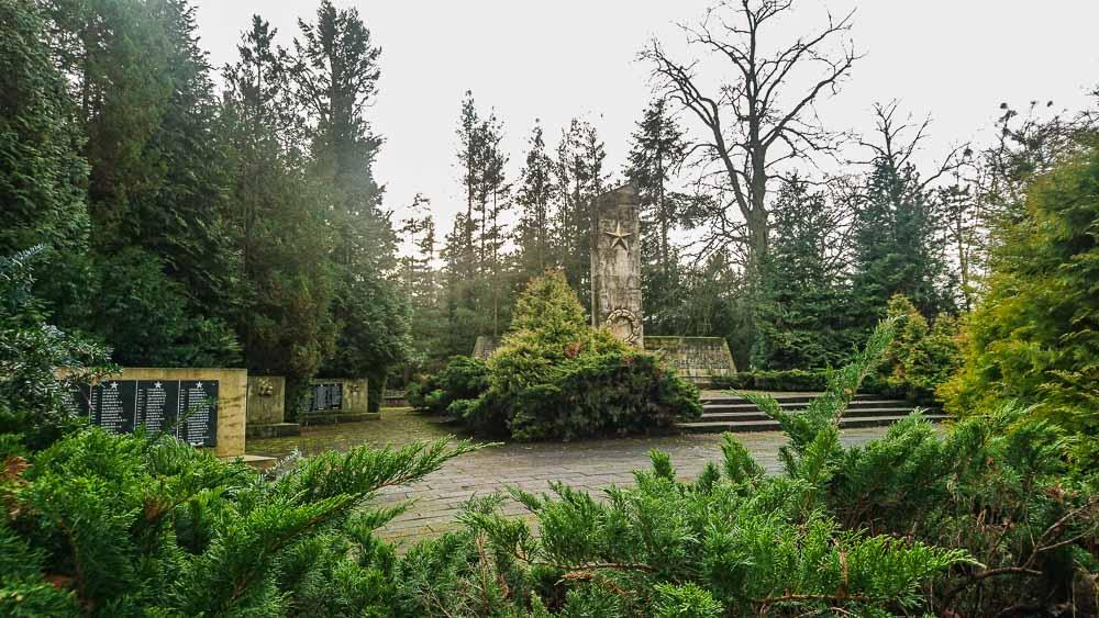 Sowjetischer Ehrenfriedhof Eberswalde