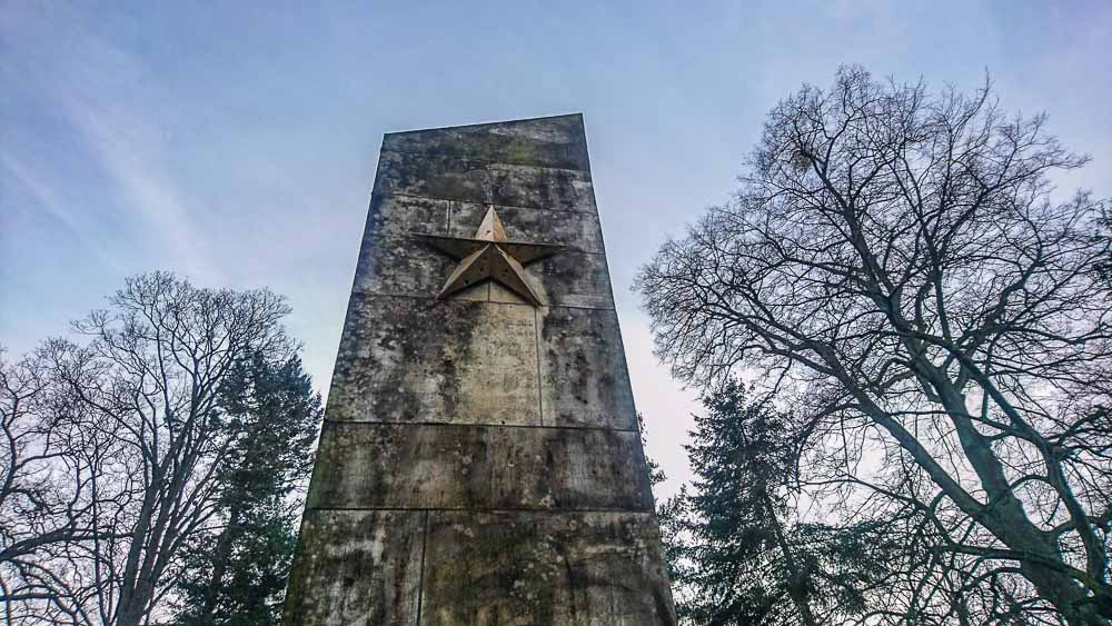 Sowjetstern Sowjetischer Ehrenfriedhof Eberswalde
