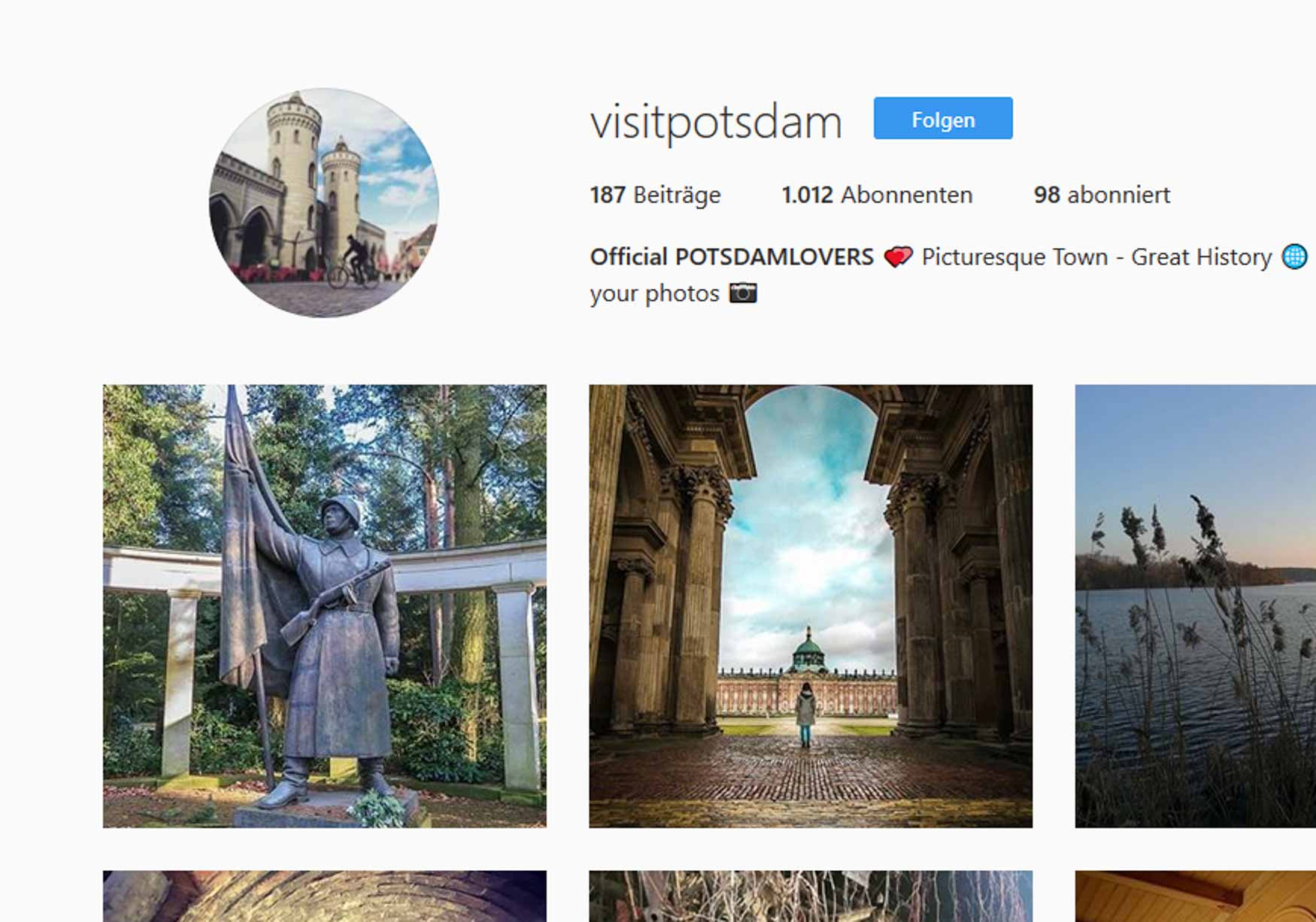 Visit Potsdam Screenshot