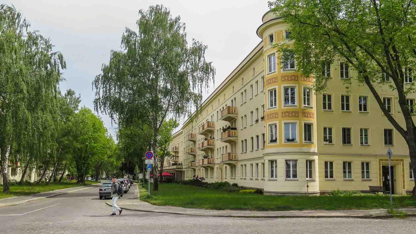Wohnkomplex II Eisenhüttenstadt DDR Architektur