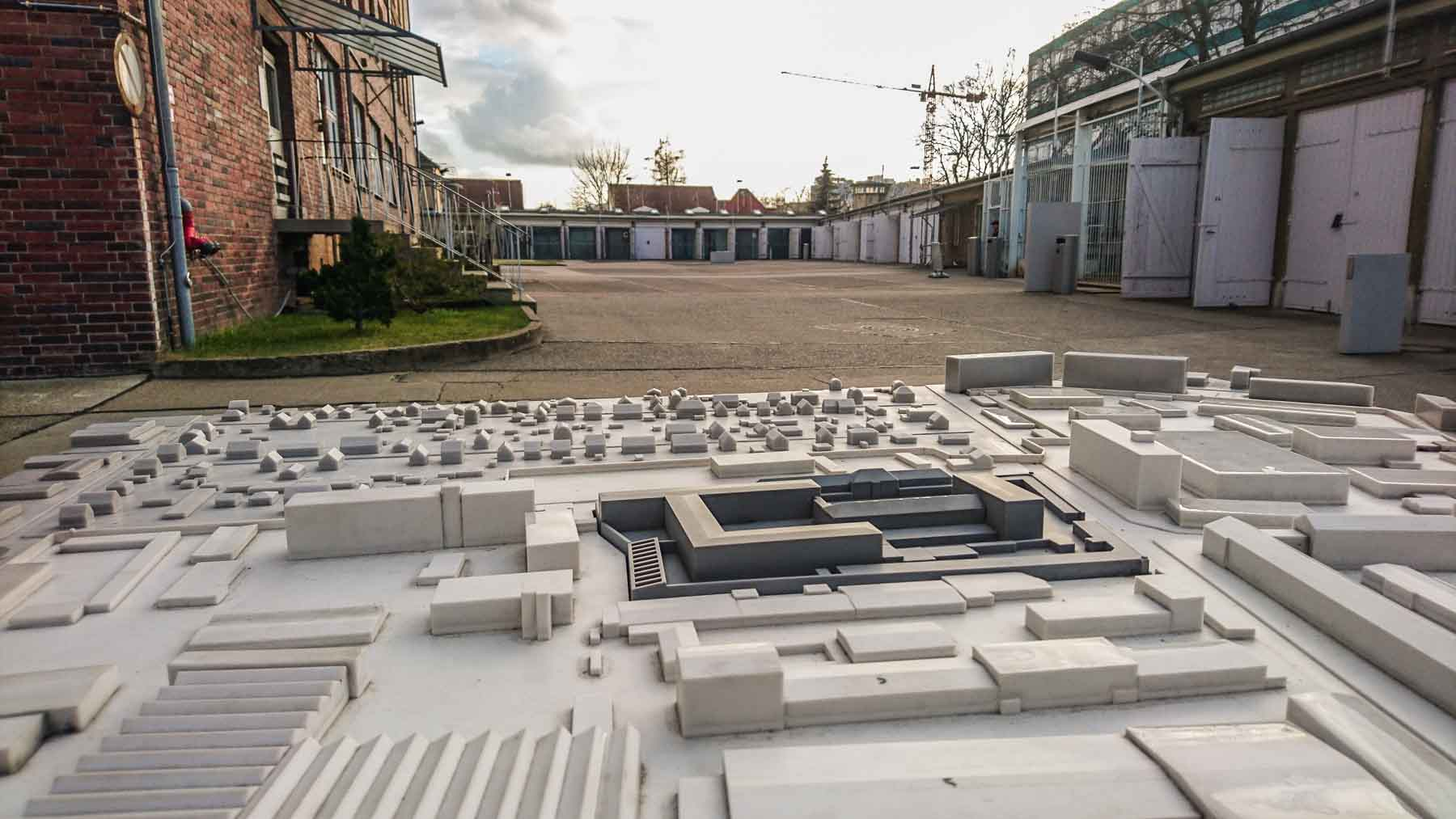 Modell Stasi Gefängnis Berlin Hohenschönhausen