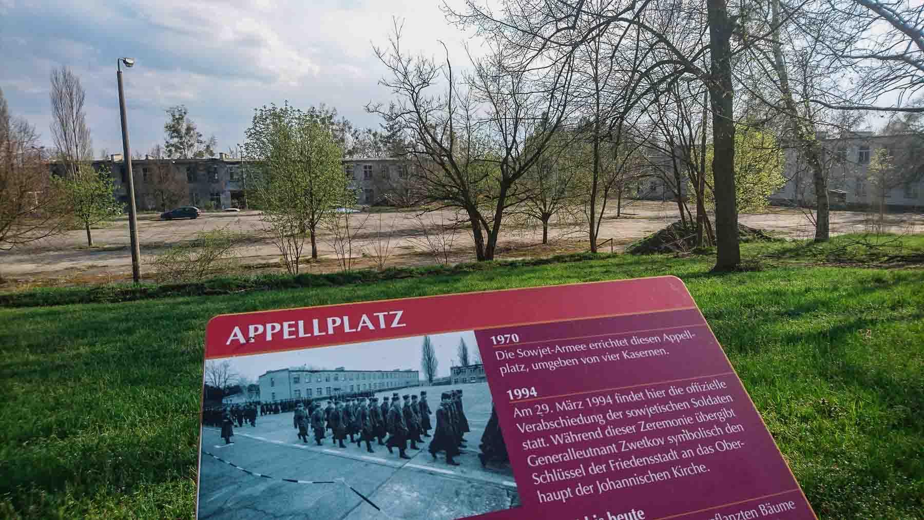 lost place friedensstadt sowjetische garnison glau