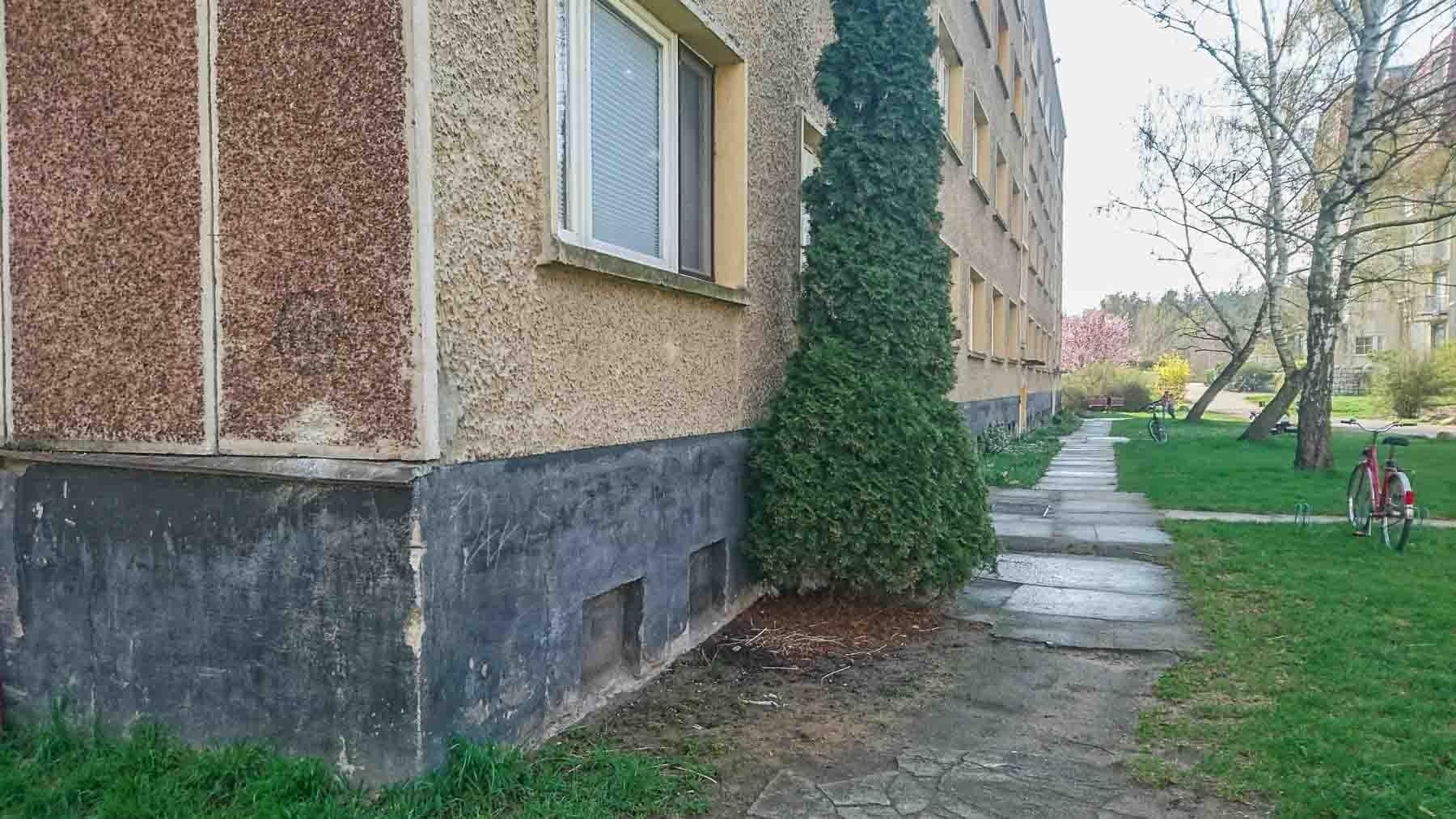 plattenbau friedensstadt garnison glau