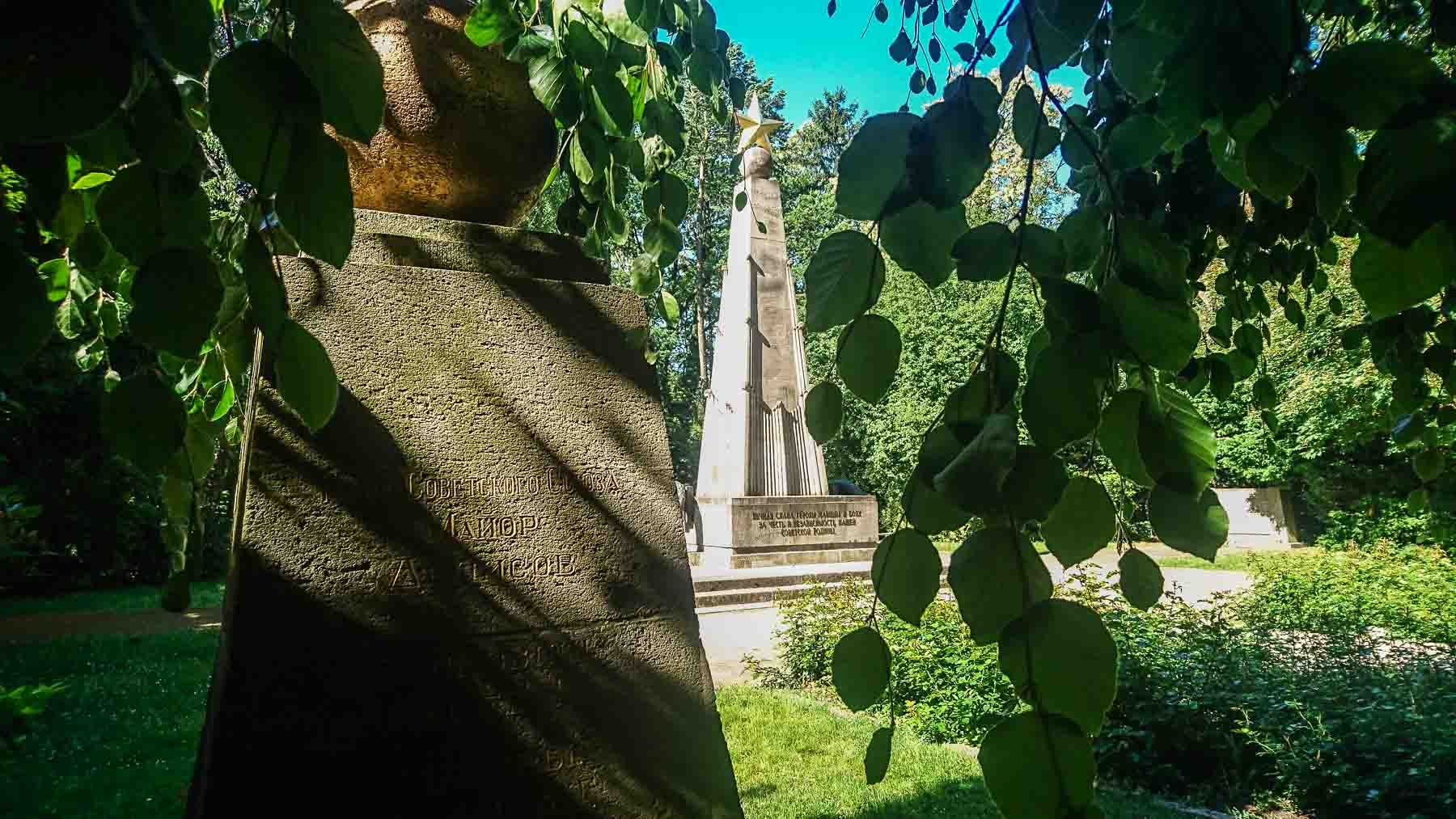 Sowjetischer Ehrenfriedhof Bernau bei Berlin