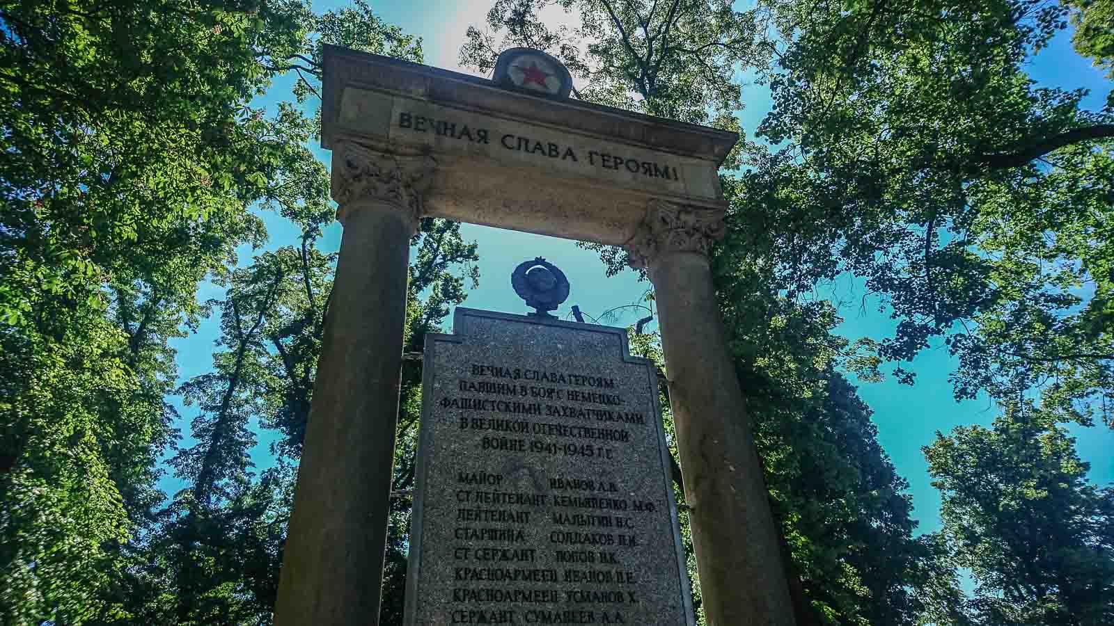 Sowjetisches Ehrenmal in Angermünde