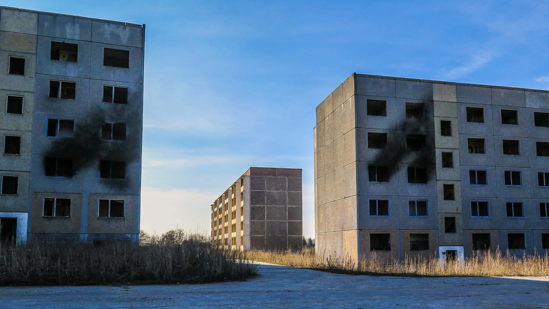 Neubaugebiet Lost Places Sowjetische Kaserne