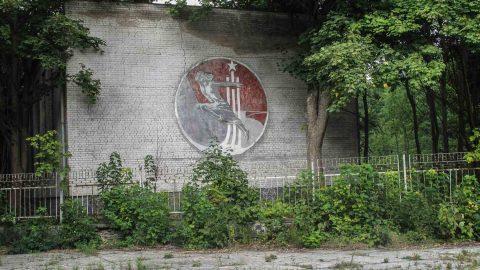 Sozialistischer Realismus Sowjetisches Wandrelief