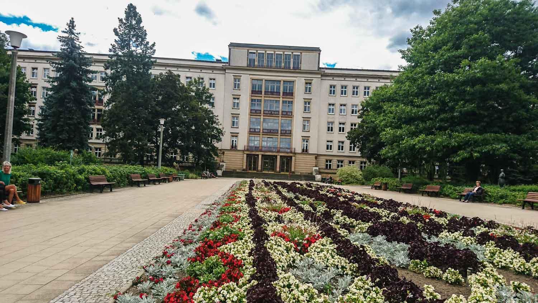 Krankenhaus Architektur Eisenhüttenstadt