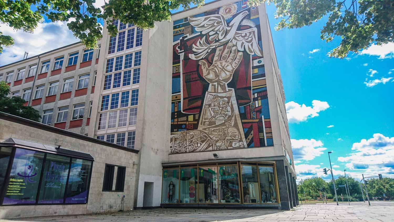 Sozialistisches Mosaik Eisenhüttenstadt