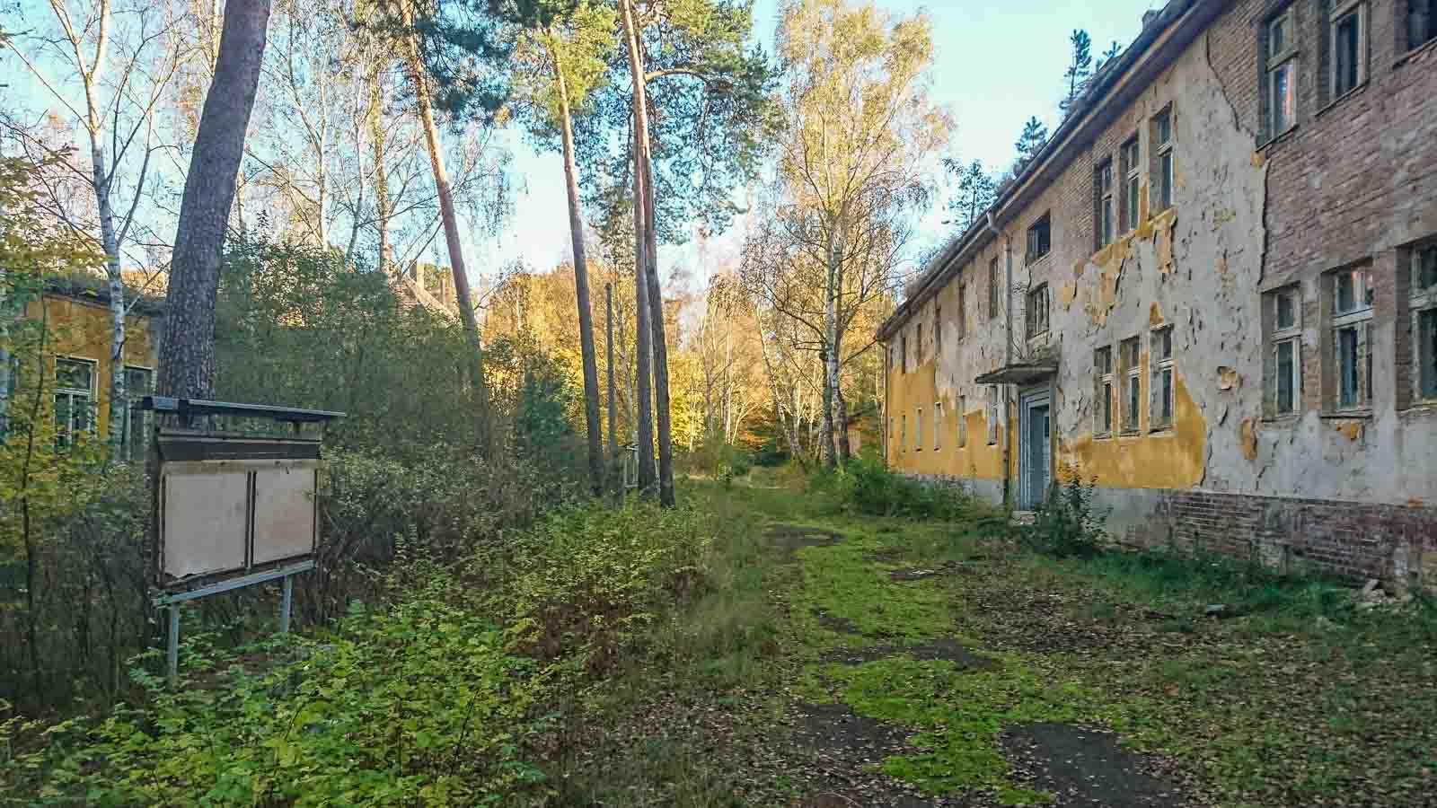 Propagandawand Lost Places Brandenburg