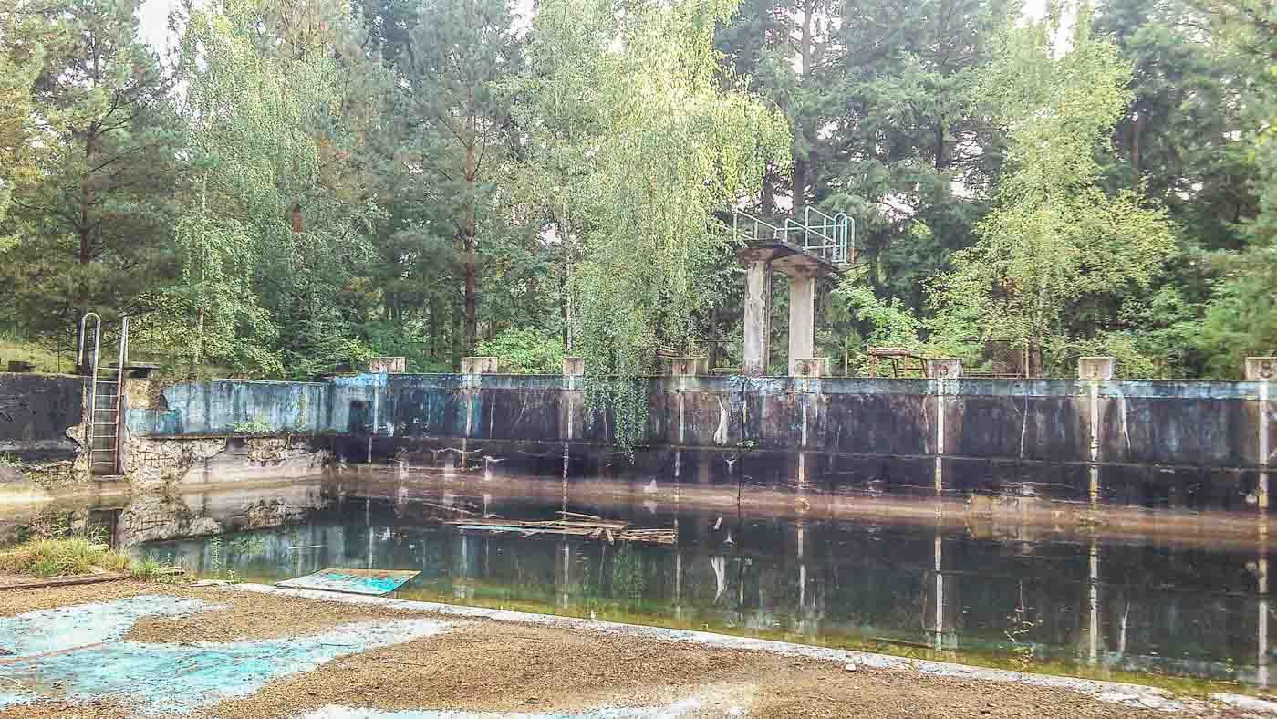 Schwimmbad Lost Places Brandenburg