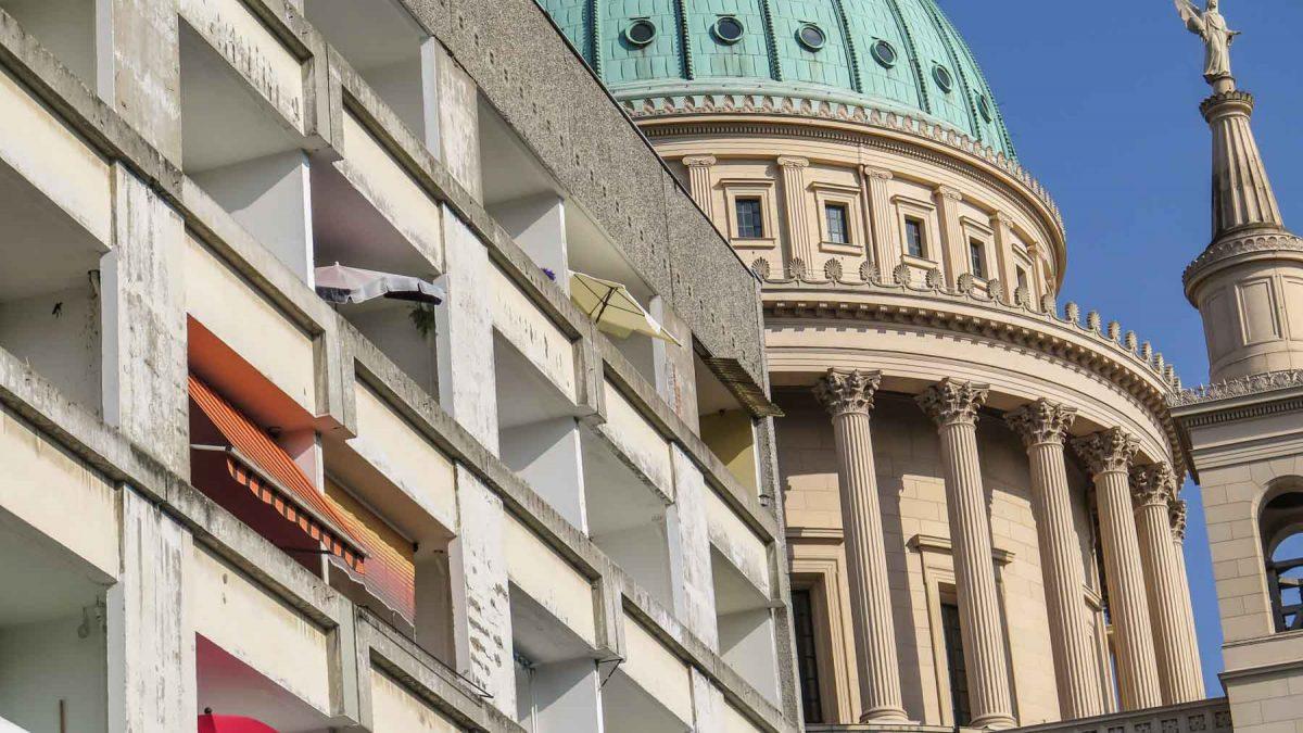 Architektonische Brüche in Potsdam