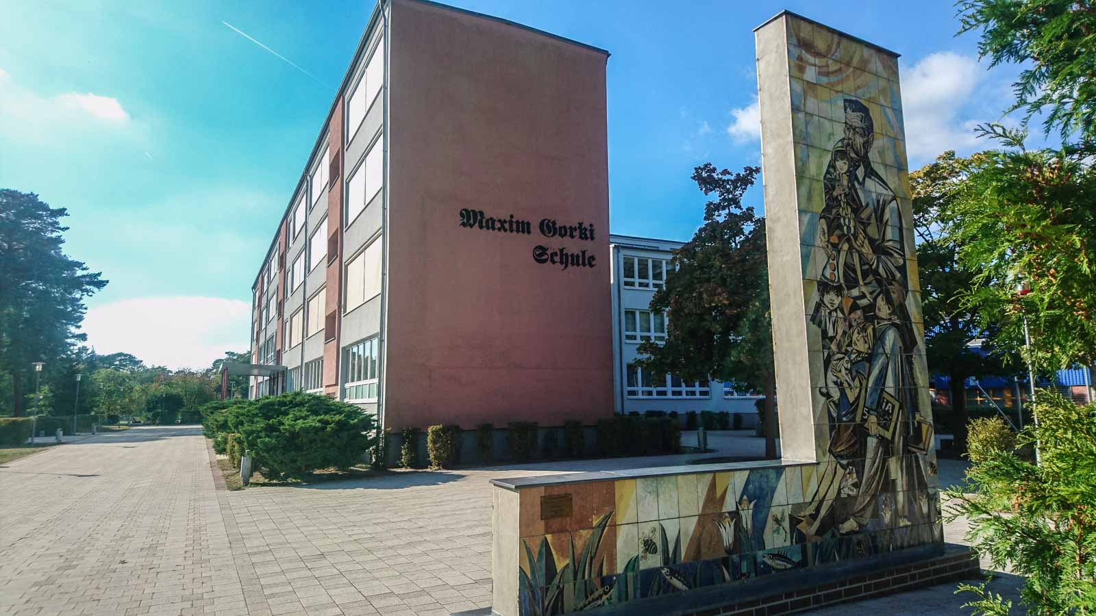 Maxim Gorki Schule Bad Saarow