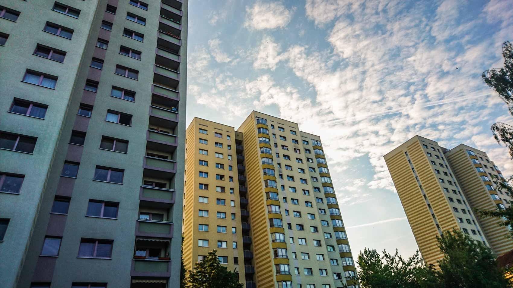 DDR Architektur Potsdam ostmodern