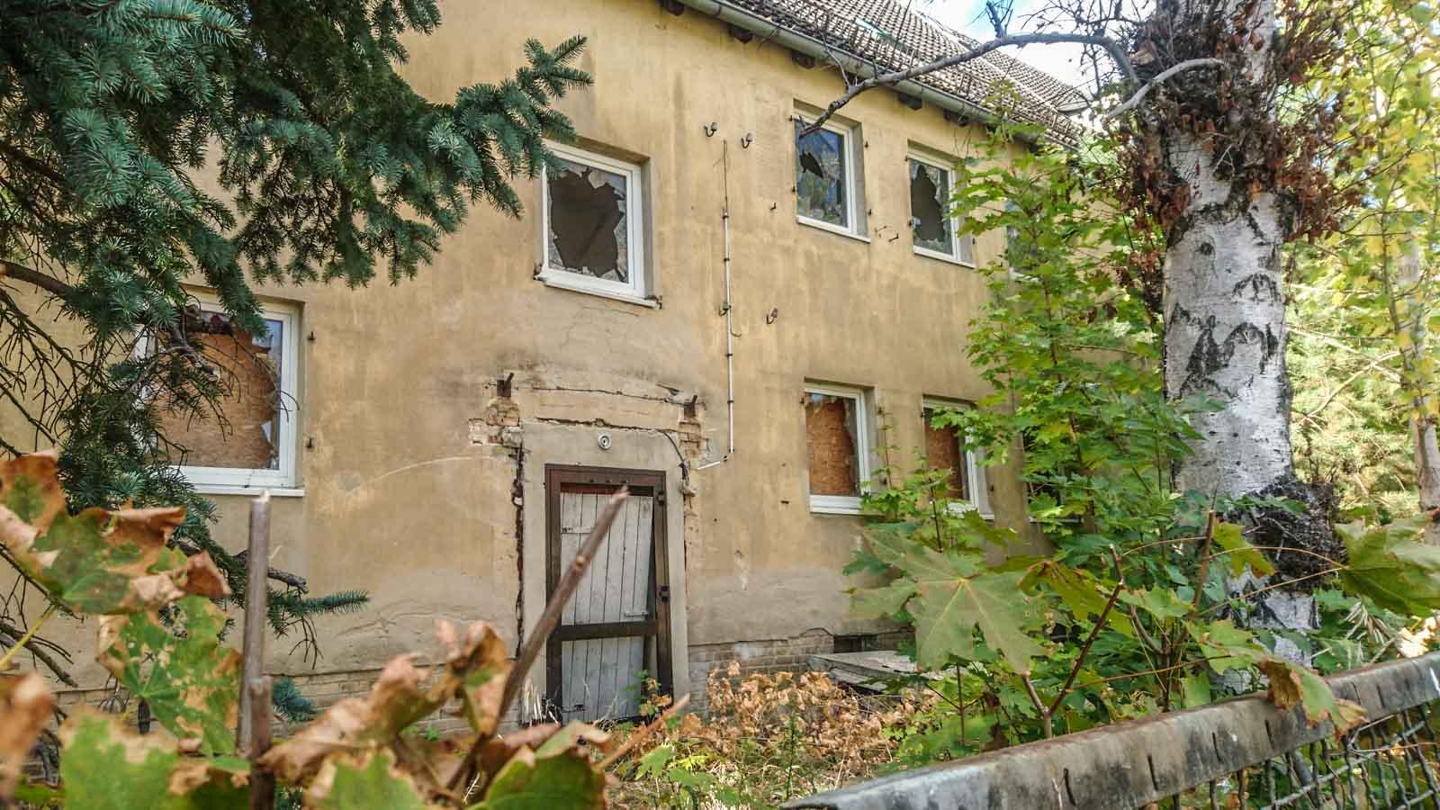 Verlassenes Haus Speziallager Nr.5 Ketschendorf Fürstenwalde