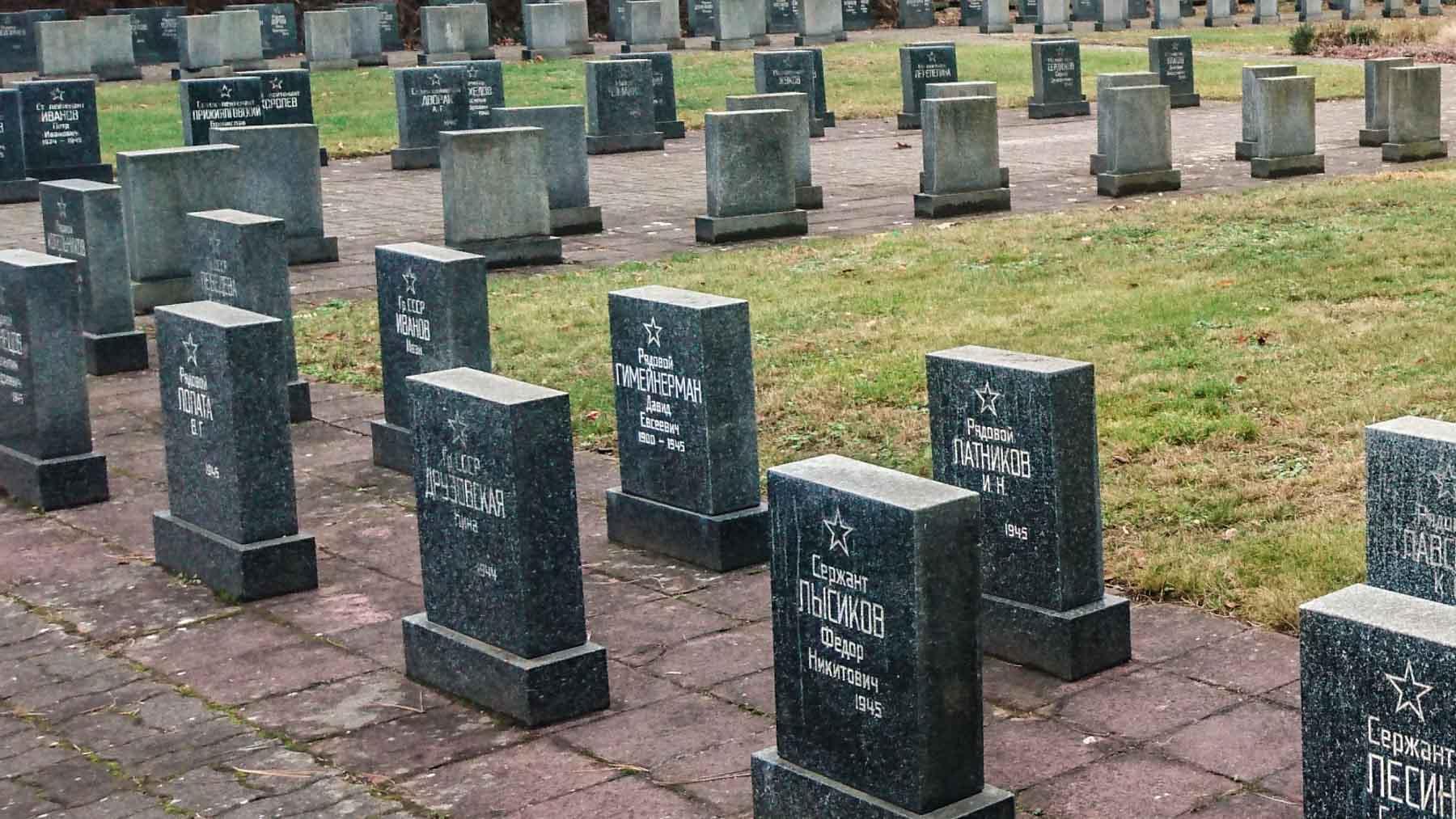 Soldatengräber Zweiter Weltkrieg