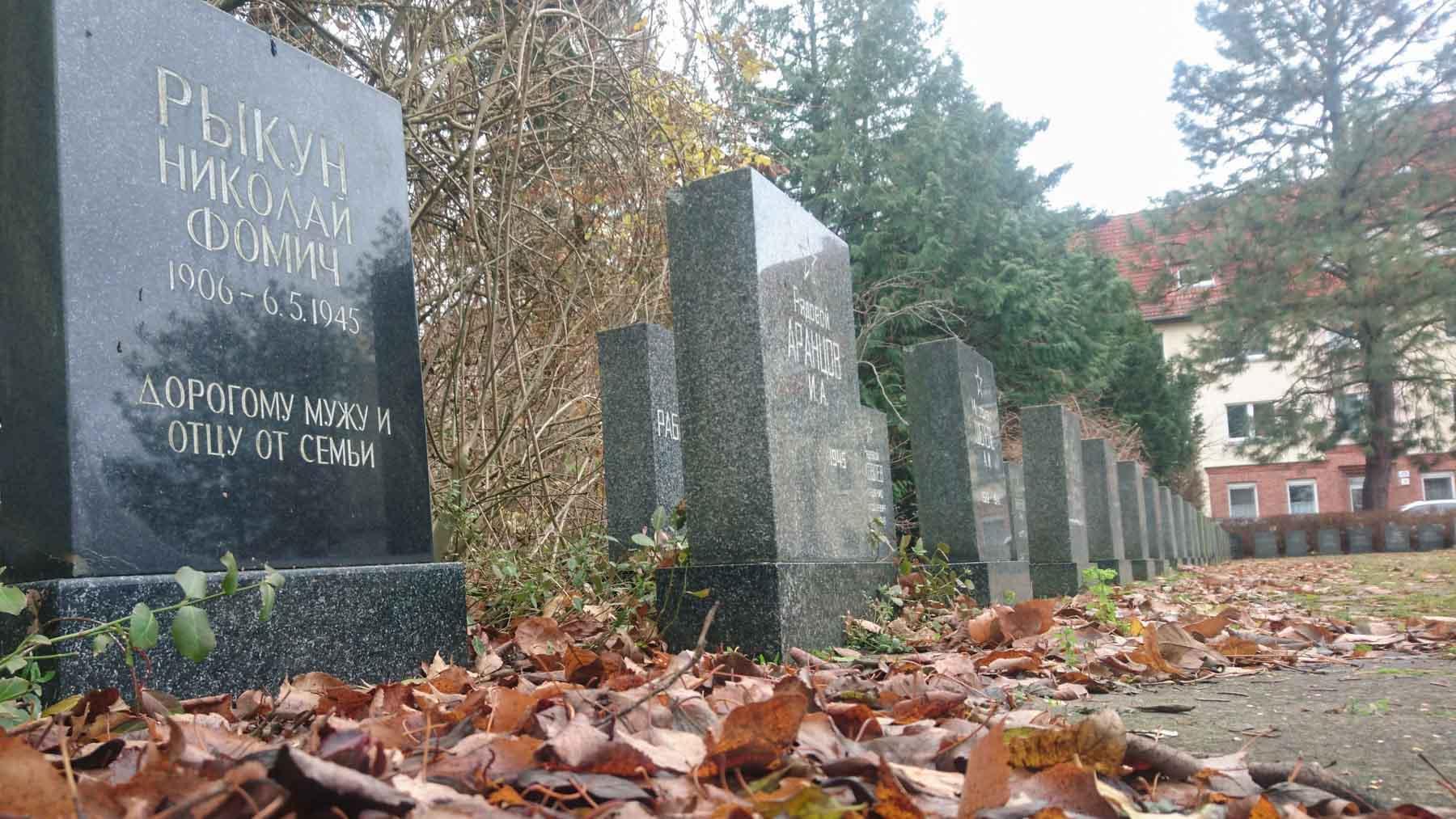 Sowjetische Soldatengräber Rathenow
