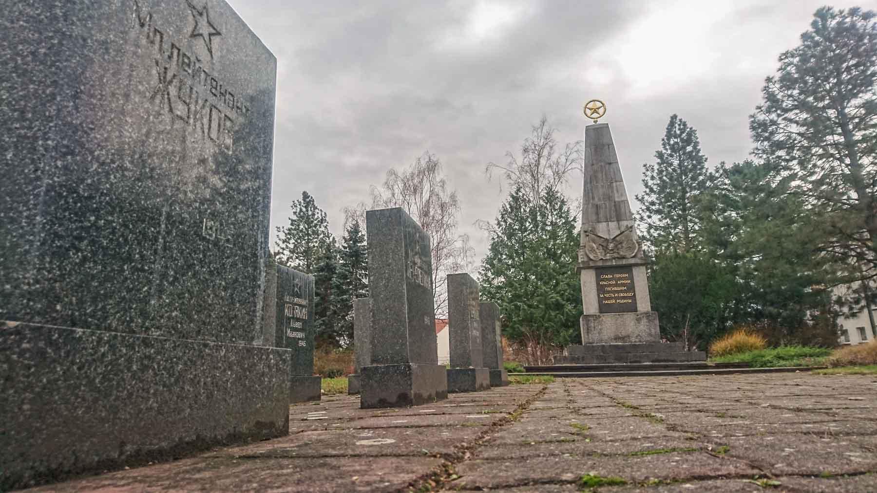 Sowjetischer Ehrenfriedhof Rathenow