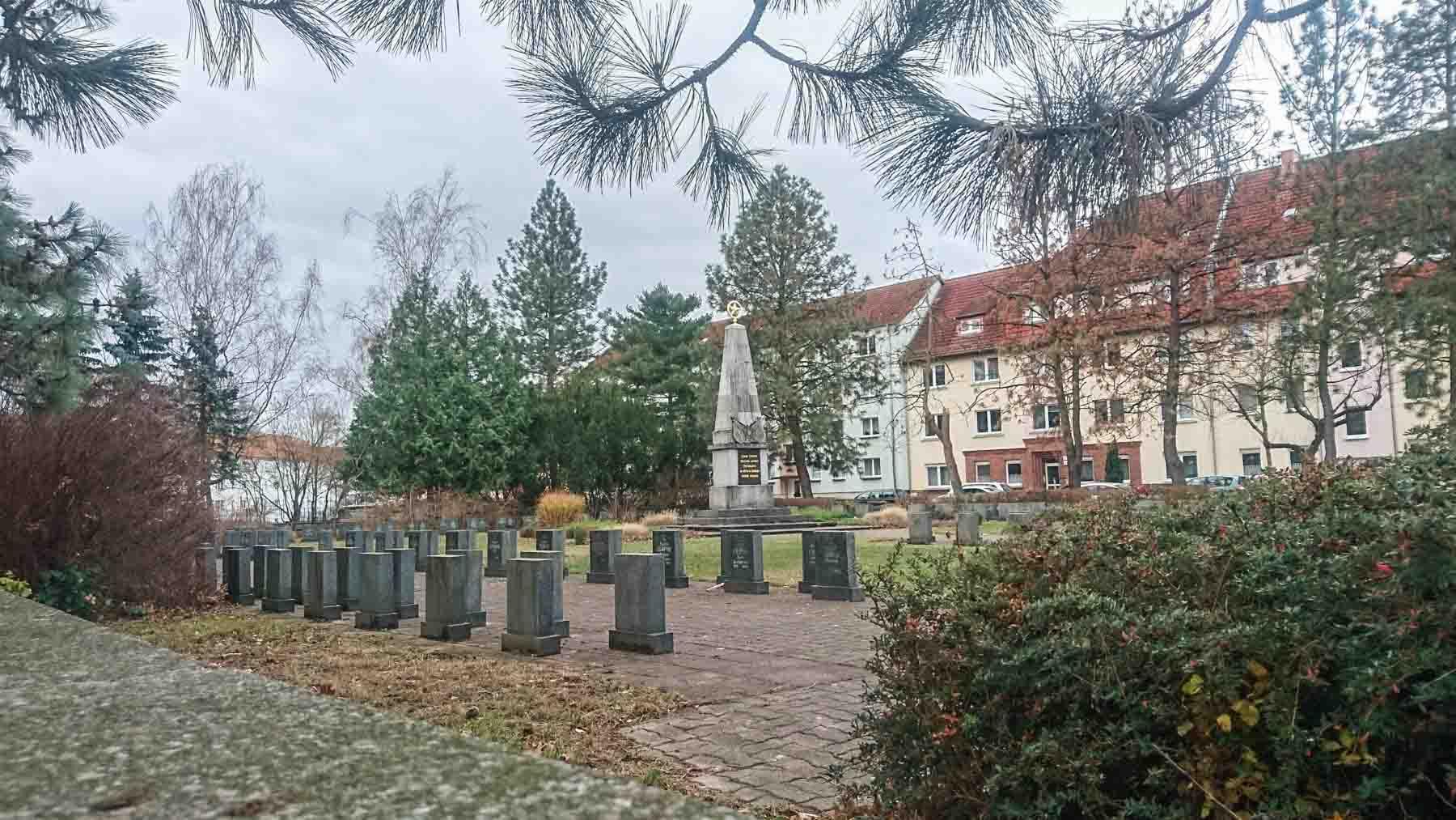 Sowjetischer Ehrenfriedhof in Rathenow