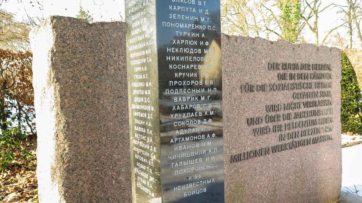 Gedenkstein Sowjetischer Ehrenfriedhof Treuenbrietzen
