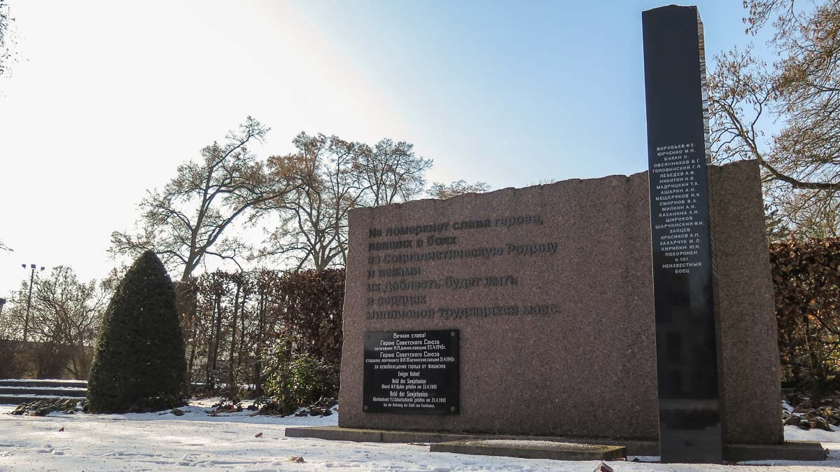 Sowjetischer Ehrenfriedhof in Treuenbrietzen