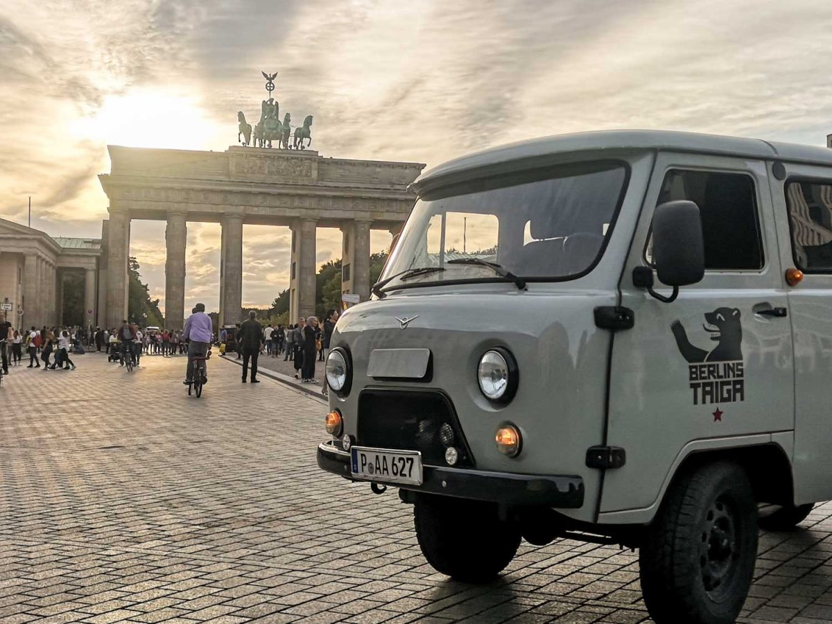 UAZ Berlin Buchanka Touren Potsdam Berlin Brandenburg