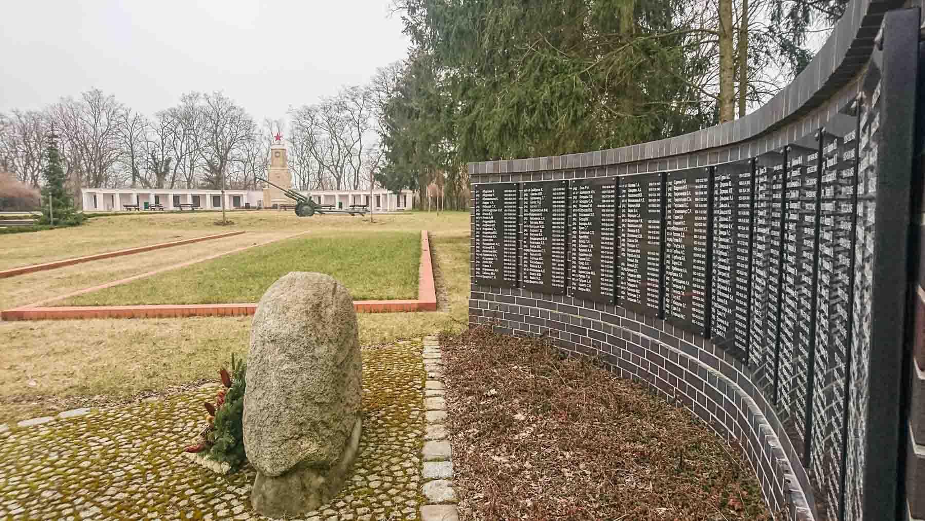 Russische Kriegsgräberstätte Lebus