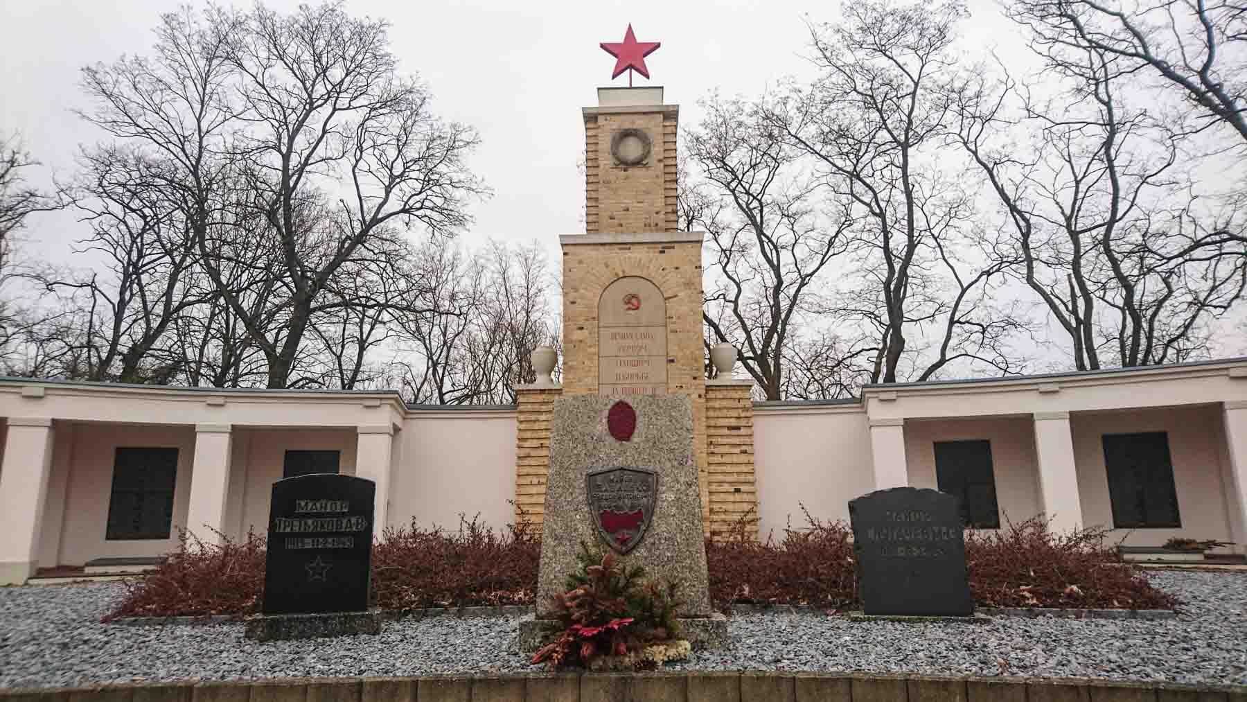 Russischer Soldatenfriedhof Lebus