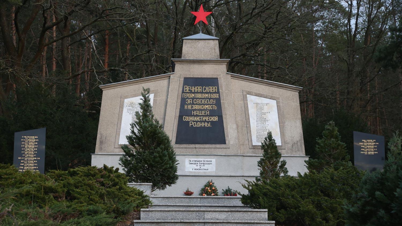 sowjetischer ehrenfriedhof grünheide mark brandenburg