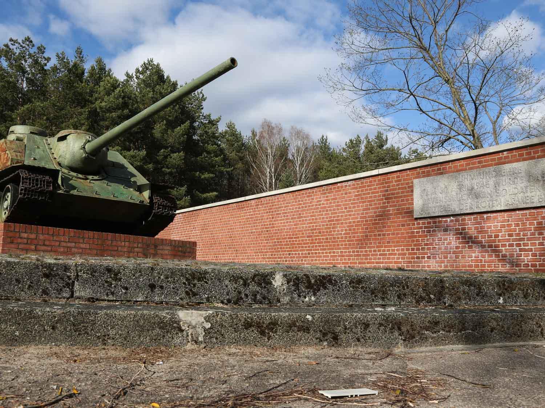 Sowjetischer Panzer KZ Ravensbrück