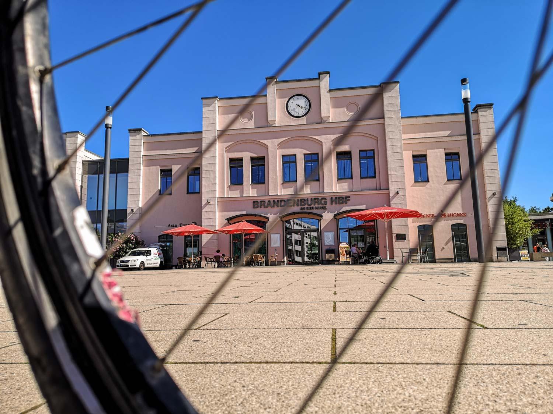 Hauptbahnhof Brandenburg Havel Radtour