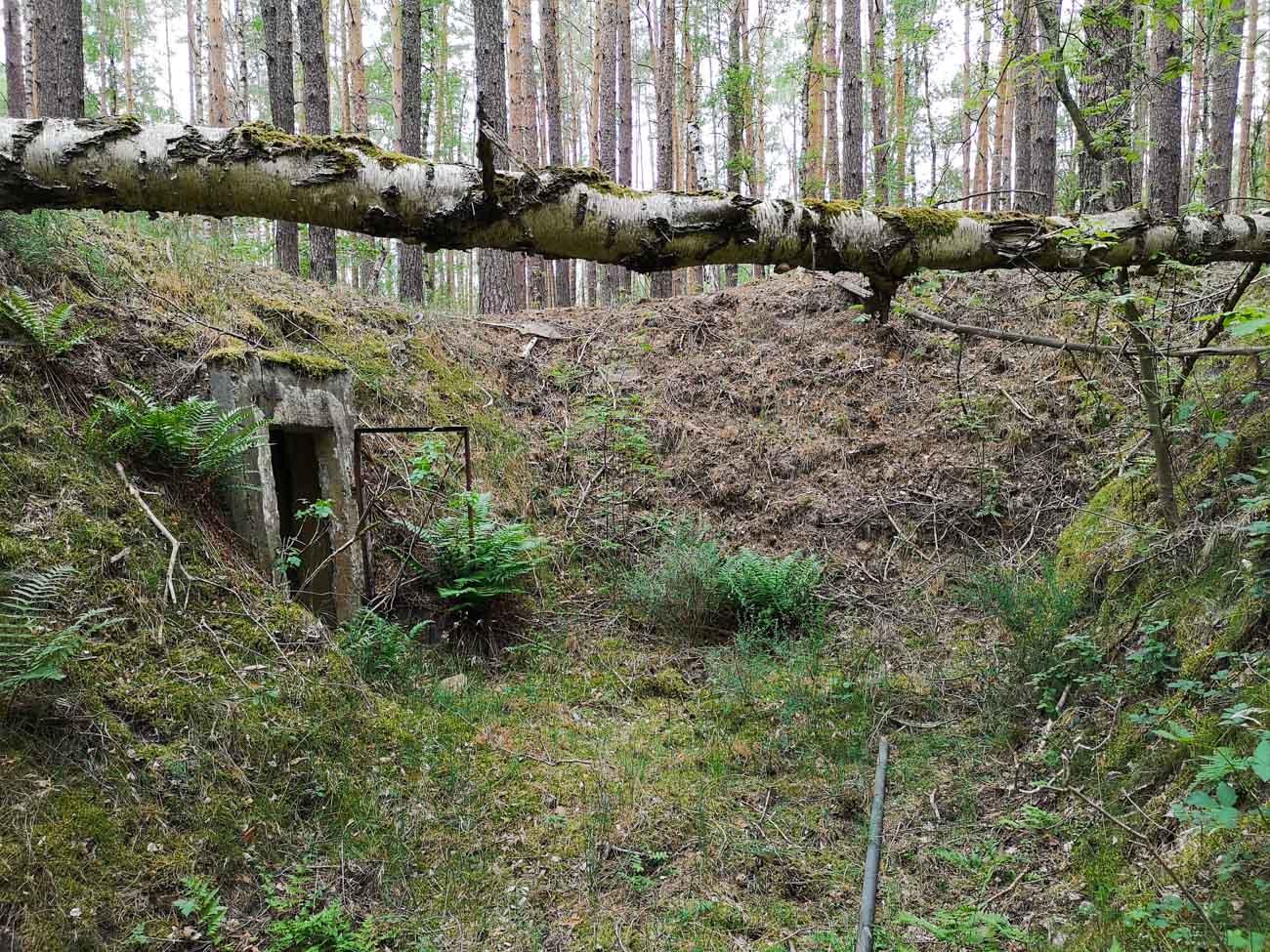 sowjetische fahrzeugstellung bunker brandenburg lost places