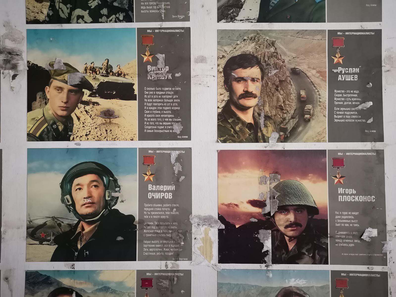 Bilder sowjetischer Soldaten Lost Places sowjetische Schule