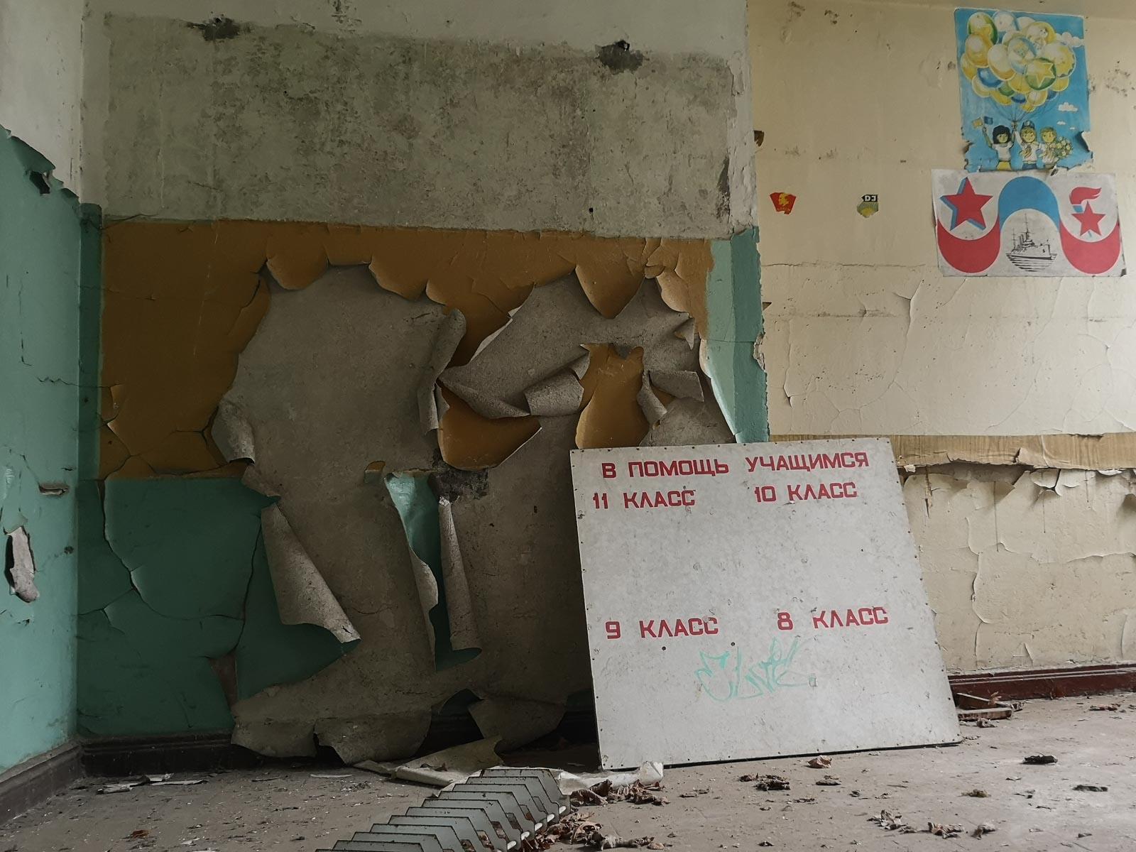 Lost Places sowjetische Schule Brandenburg